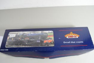 "Boxed Bachmann 00 gauge 31-777 modified haul ""Soughton Hall"", GW lined green, No 6962 locomotive"