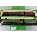 "Hornby ""Princess Elizabeth"" locomotive No 6201 together with a Bachmann ""Golden Eagle"" locomotive No"