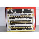 """Boxed Hornby 00 gauge """"The Excalibur Express train"""" set"""