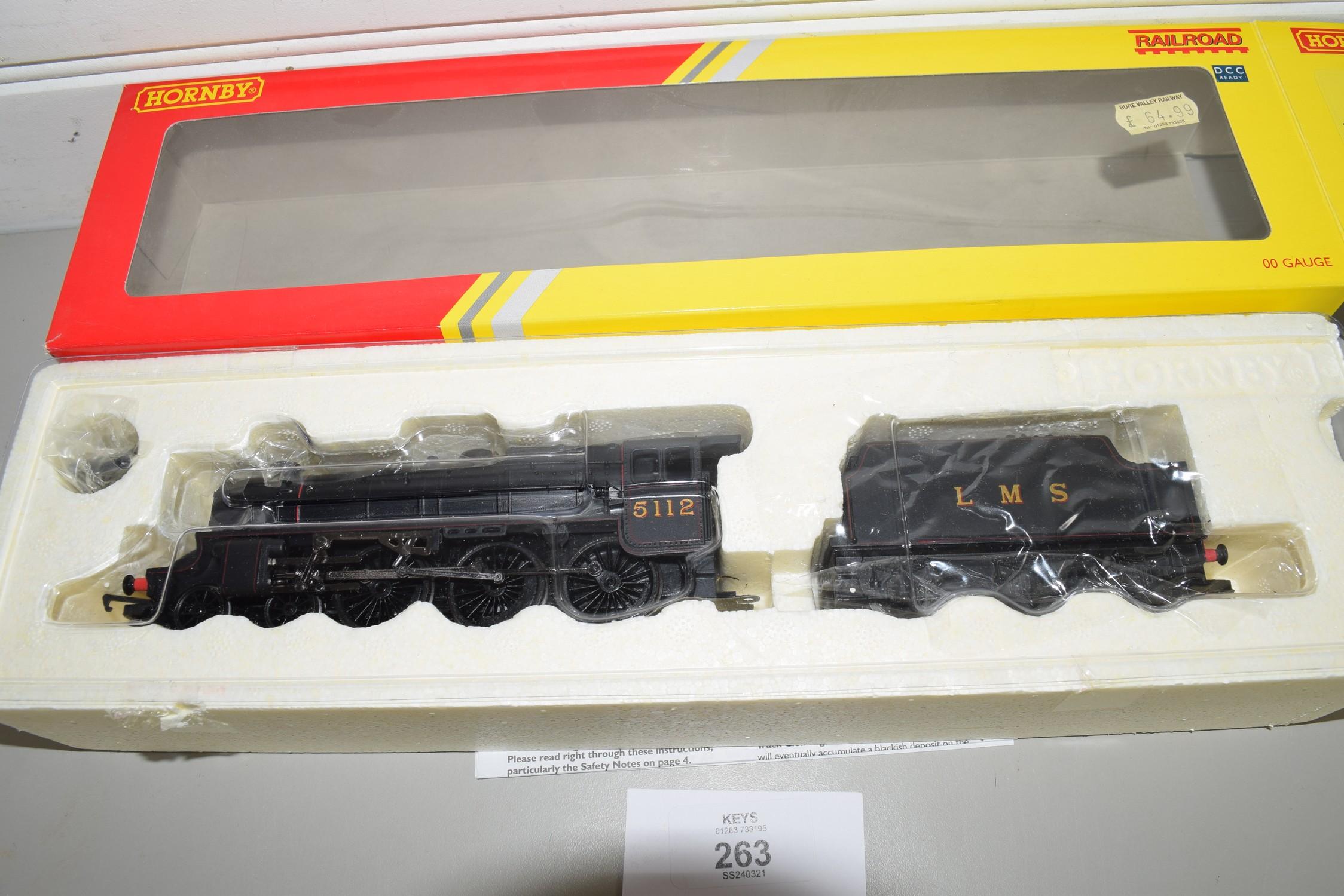 Boxed Hornby 00 gauge R2881 LMS class 5 locomotive No 5112