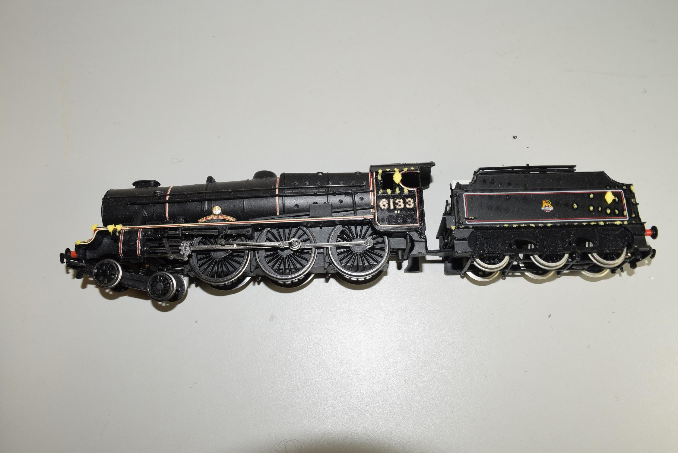 "Unboxed Bachmann 00 gauge ""Green Howards"" locomotive no 6133"