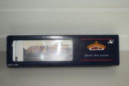 "Boxed Bachmann 00 gauge 31-282 P-boiler Scot ""The Royal Horseguardsmen"" BR green E/emblem"
