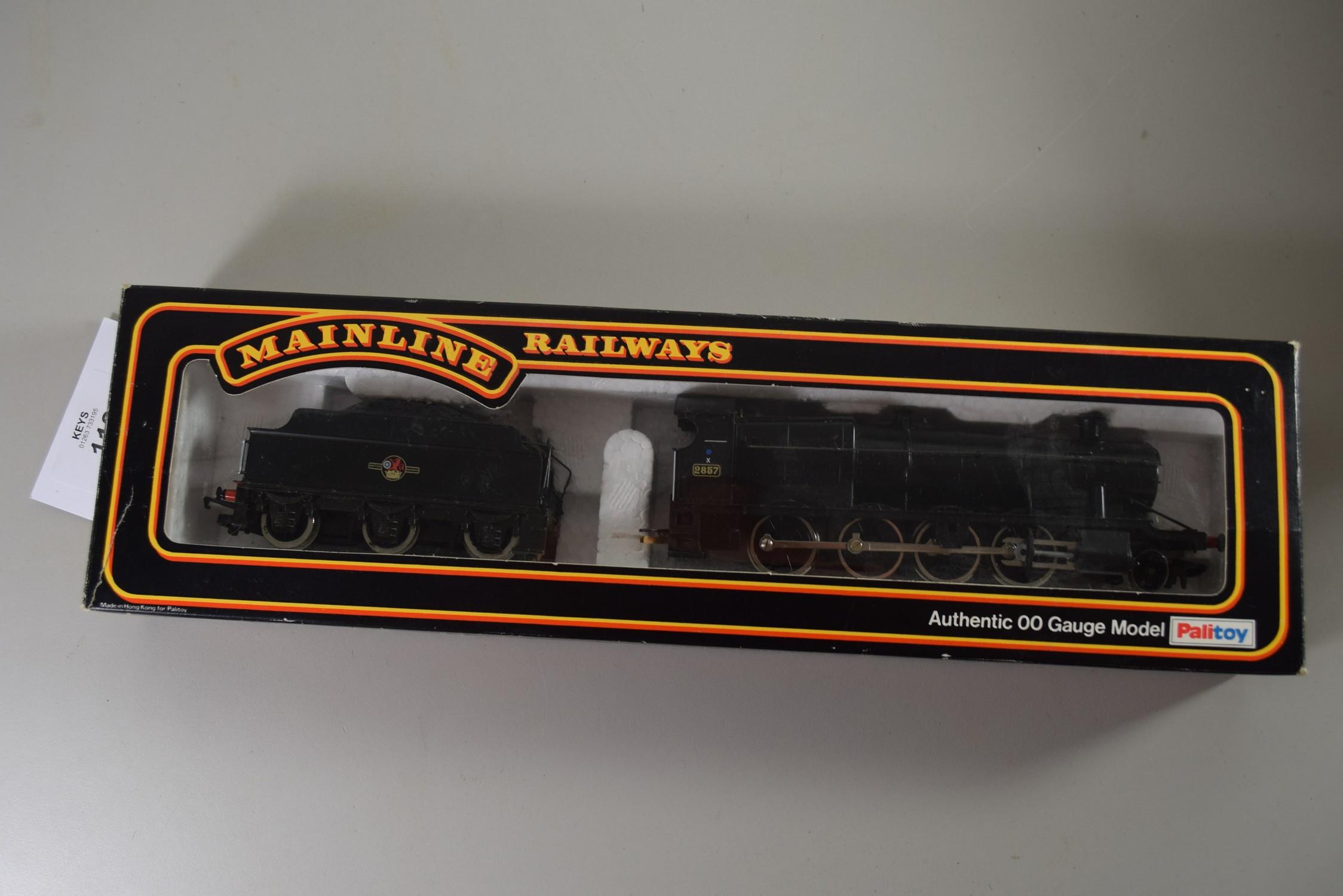 Hornby locomotive No 2857 in un-associated box