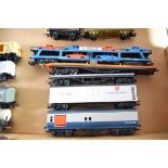 Group of five unboxed 00 gauge transport wagons to include Motorail vehicle carrier