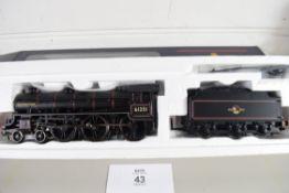 "Boxed Bachmann 00 gauge 31-710 B1 ""Oliver Bury"" BR black L/crest No 61251 locomotive"