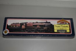 "Boxed Bachmann 00 gauge 31-279 Parallel Boiler Scot ""The West Yorkshire Regiment"", LMS maroon No"