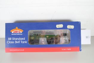 Boxed Bachmann 00 gauge 31-976A BR Standard class 3MT tank, BR lined green late crest, No 82030