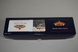 "Boxed Bachmann 00 gauge 31-280 P-boiler Scot ""Gordon Highlander"" LMS crimson 4000gal tender No 6106"