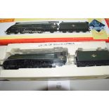 """Boxed Hornby 00 gauge R209 BR 4-6-2 Class A4 """"Union of South Africa"""" locomotive No 60009"""