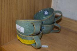 MATERA TEA CUP, GREEN (4)