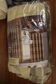 """BRUSHED HERITAGE CHECK ISLET CURTAINS, 66"""" X 90"""" DROP"""