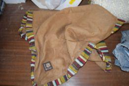 ROCCO BOX DOG PILLOW COVER, BROWN, MEDIUM