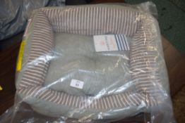 MARITIME SNUGGLE DOG BED, SMALL, 47 X 41CM