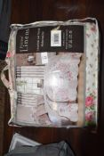 """MARON BEDSPREAD WITH PILLOW SHAM, 92"""" X 98"""" APPROX"""