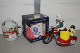 CHILDREN'S MUG AND COVER AND FURTHER EXAMPLE IN BOX