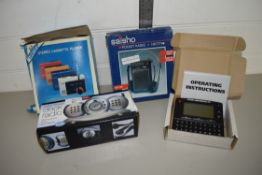 DIGITAL CLOCK RADIO AND OTHER ITEMS