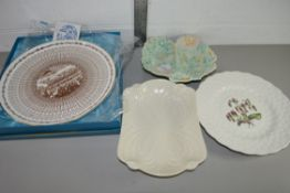 QTY OF TABLE CERAMICS, VARIOUS MAKERS