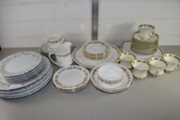 CHINA WARES, PARAGON CHINA MADE FOR LAWLEYS, CUPS AND SAUCERS ETC