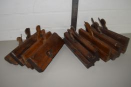 WOODEN CARPENTRY TOOLS AND FITTINGS