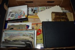 POSTCARDS AND STAMPS, TOGETHER WITH A PHOTO ALBUM OF VIEWS FROM NORWAY