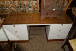1960S STYLE RETRO DRESSING TABLE, LENGTH APPROX 146CM