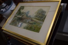 QTY OF MIXED FRAMED PRINTS