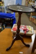 SMALL WINE TABLE, DIAM APPROX 31CM