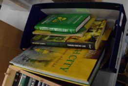 BOX OF NORWICH CITY BOOKS AND MEMORABILIA