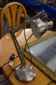 ANGLE POISE TYPE DESK LAMP