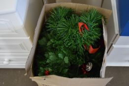 BOXED ARTIFICIAL CHRISTMAS TREE