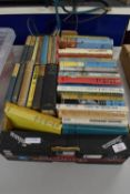 BOX CONTAINING MIXED BOOKS AND NOVELS