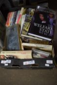 BOX CONTAINING MIXED COOKERY AND OTHER BOOKS