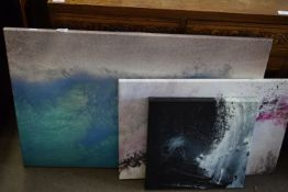 THREE WALL CANVASES