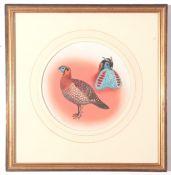 "J C Harrison, Watercoulour, Pheasant Study ""Temminks Tragopan"", produced for the book ""Pheasants"