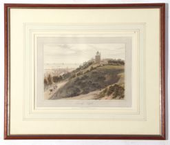 William Daniell, coloured aquatint, 1822 - Lowestoft Suffolk, 20 x 28cm