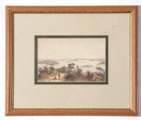 After George French Angas - Sydney harbour near Vaucluse, from a lithograph in Kivell collection,