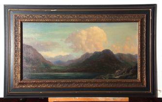 "Albert Hemelmen (1883-1951), signed, oil on canvas – inscribed verso ""Bij Akurea (Ijsland)"", 33 x"