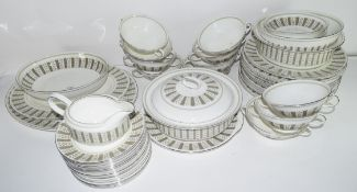 """Group of dinner wares made by Wedgwood in a Susie Cooper design entitled """"Persia"""" including 12"""