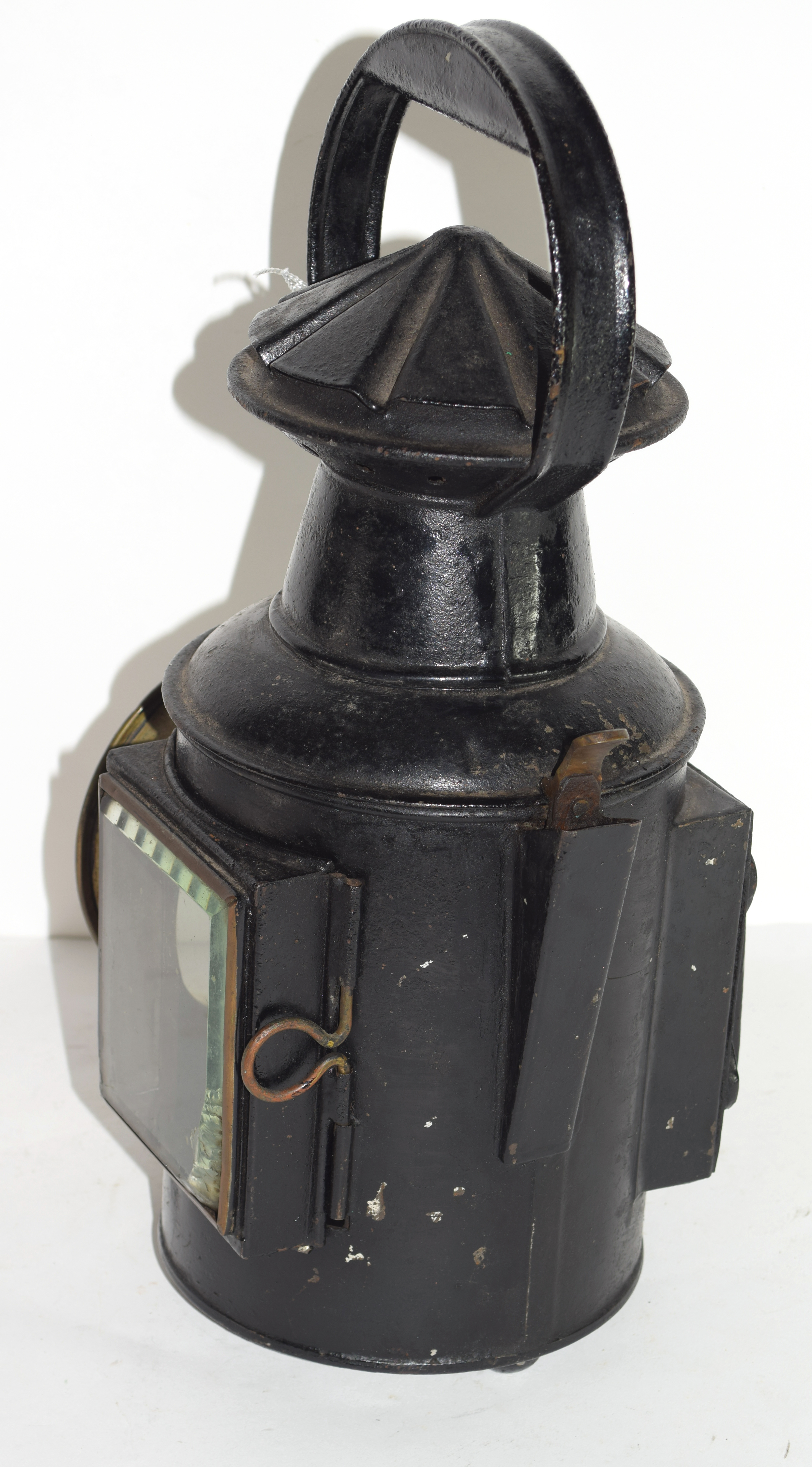 Railway light with stamp for G Polkey, 1903, Birmingham - Image 4 of 6