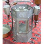 Vintage paraffin heater for camping/military use