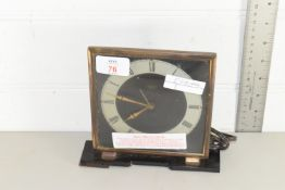 1960S ELECTRIC MANTEL CLOCK BY SMITHS