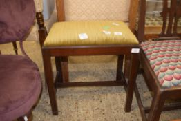 UPHOLSTERED JOINTED PIANO STOOL