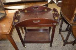 BUTLERS TRAY STYLE TEA TROLLEY, LENGTH APPROX 71CM