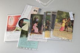 ACCUMULATION OF VARIOUS WWI SWEETHEART POSTCARDS