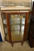 MID 20TH CENTURY CHINA CABINET, WIDTH APPROX 86CM