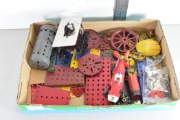 BOX OF ASSORTED MECCANO