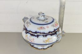 HAND FINISHED DAVENPORT TUREEN AND LID