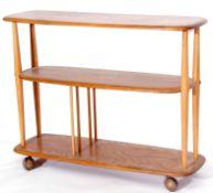 1960s Ercol style shelf unit