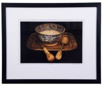 """AR Clive Dunn (20th century), """"Sideboard"""", coloured print, signed, numbered 4/15 and inscribed"""