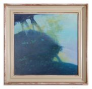 Ronald Durban, British Contemporary, Reflections Keswick Hill , Oil on canvas, signed , 23.5 x 22.